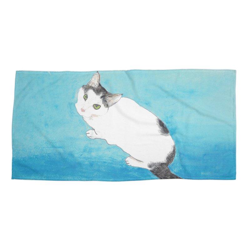 KFP Lyla P Accessories Beach Towel by Maryland SPCA's Artist Shop