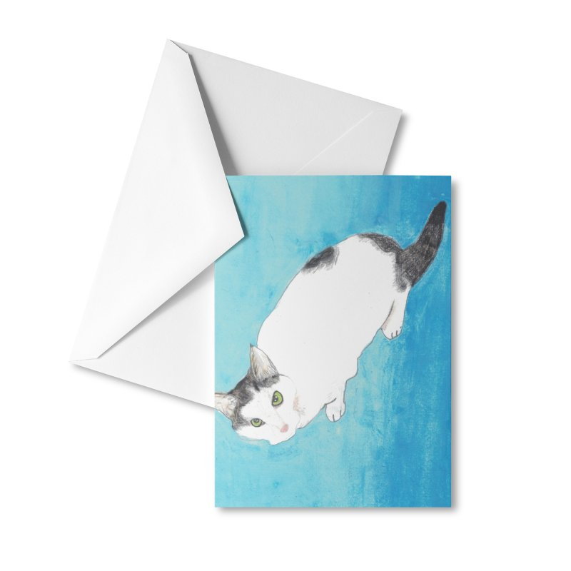 KFP Lyla P Accessories Greeting Card by Maryland SPCA's Artist Shop