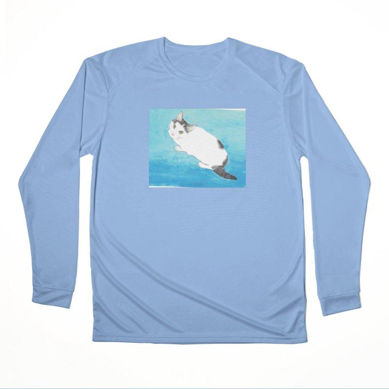 KFP Lyla P Men's Longsleeve T-Shirt by Maryland SPCA's Artist Shop