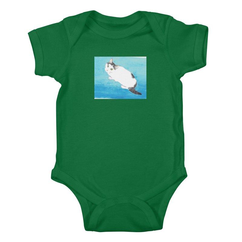 KFP Lyla P Kids Baby Bodysuit by Maryland SPCA's Artist Shop