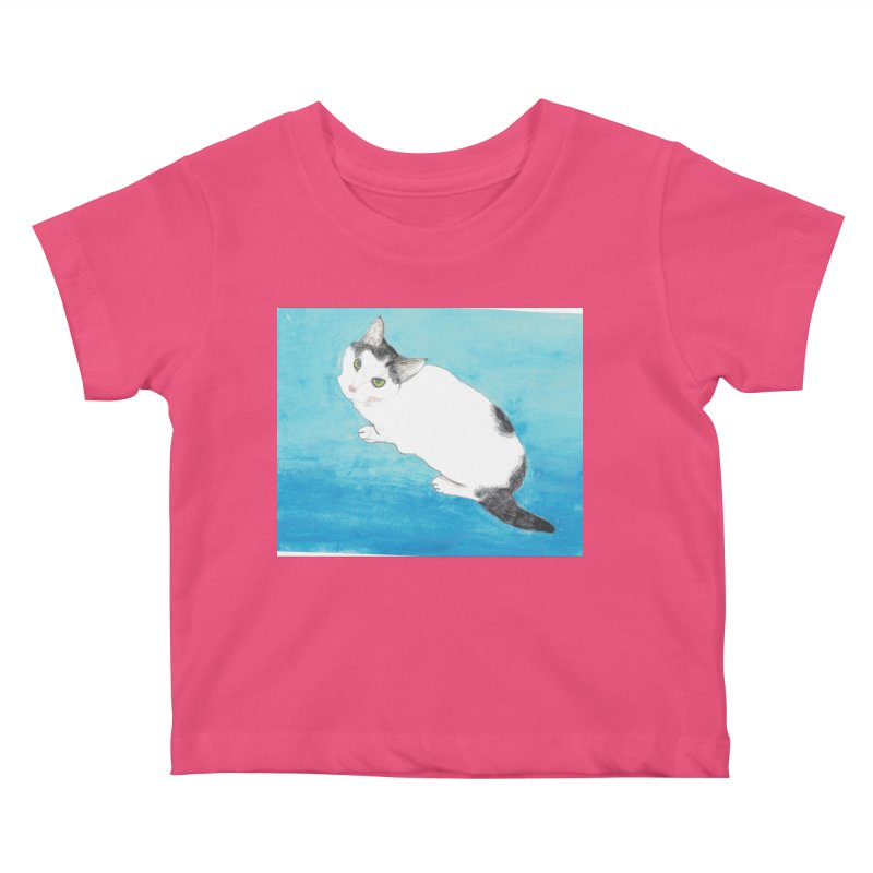 KFP Lyla P Kids Baby T-Shirt by Maryland SPCA's Artist Shop