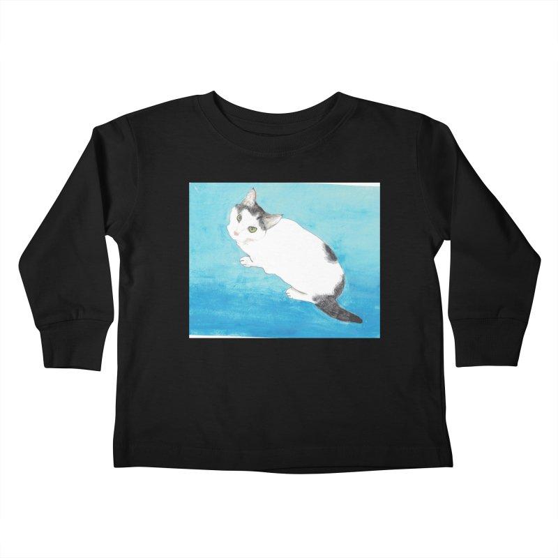 KFP Lyla P Kids Toddler Longsleeve T-Shirt by Maryland SPCA's Artist Shop