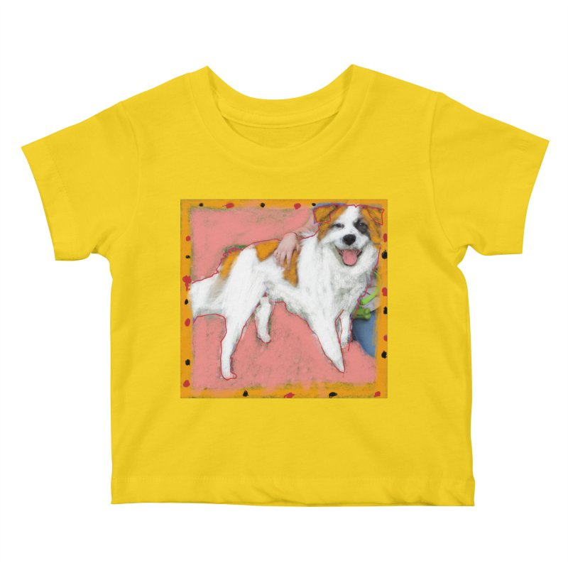 KFP Taylor M. Kids Baby T-Shirt by Maryland SPCA's Artist Shop