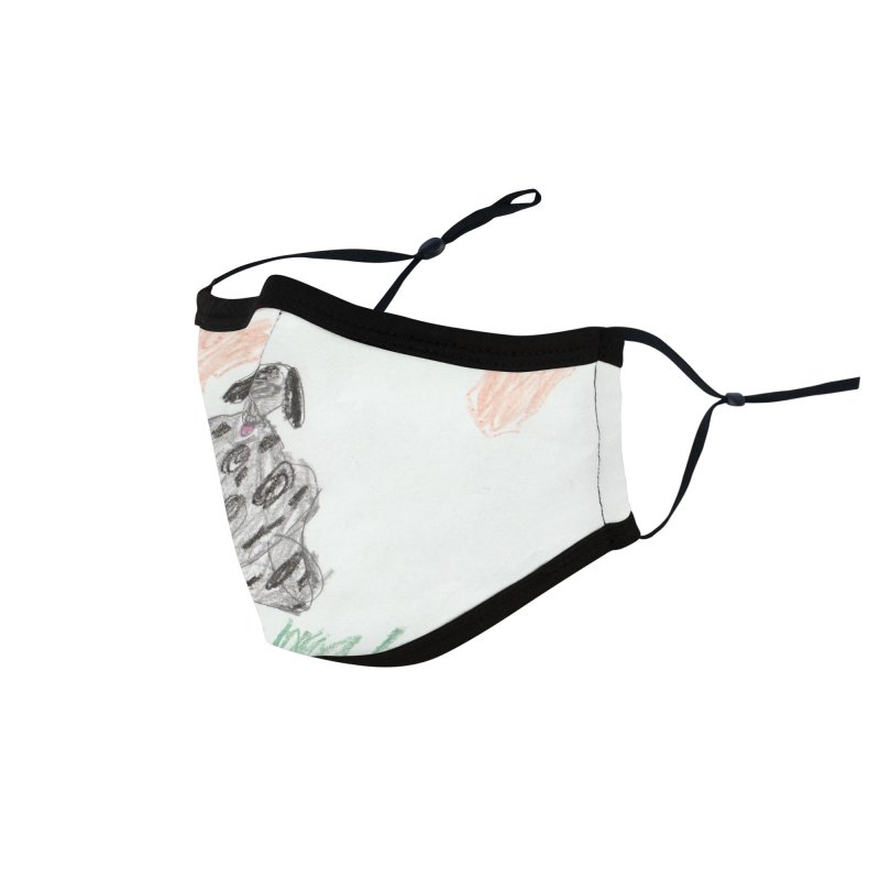 KFP Avery Y. Accessories Face Mask by Maryland SPCA's Artist Shop