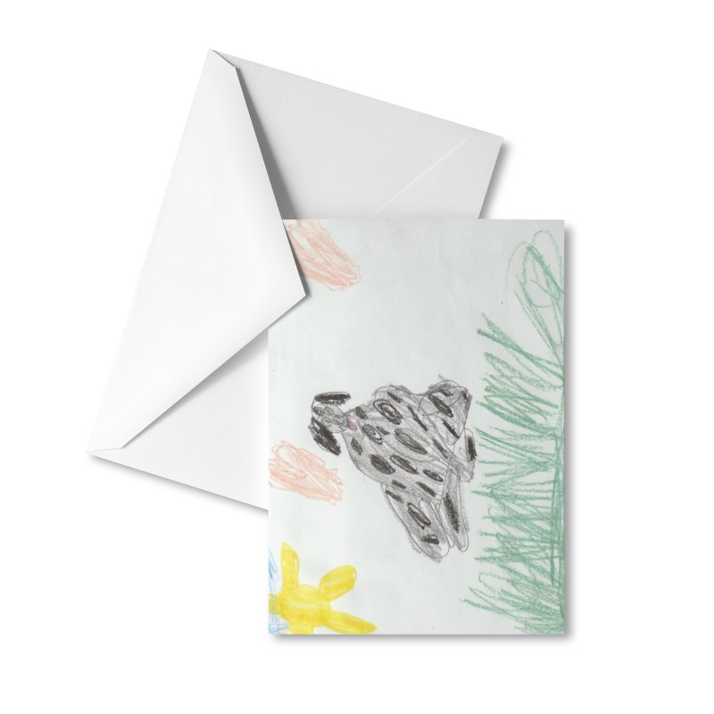 KFP Avery Y. Accessories Greeting Card by Maryland SPCA's Artist Shop