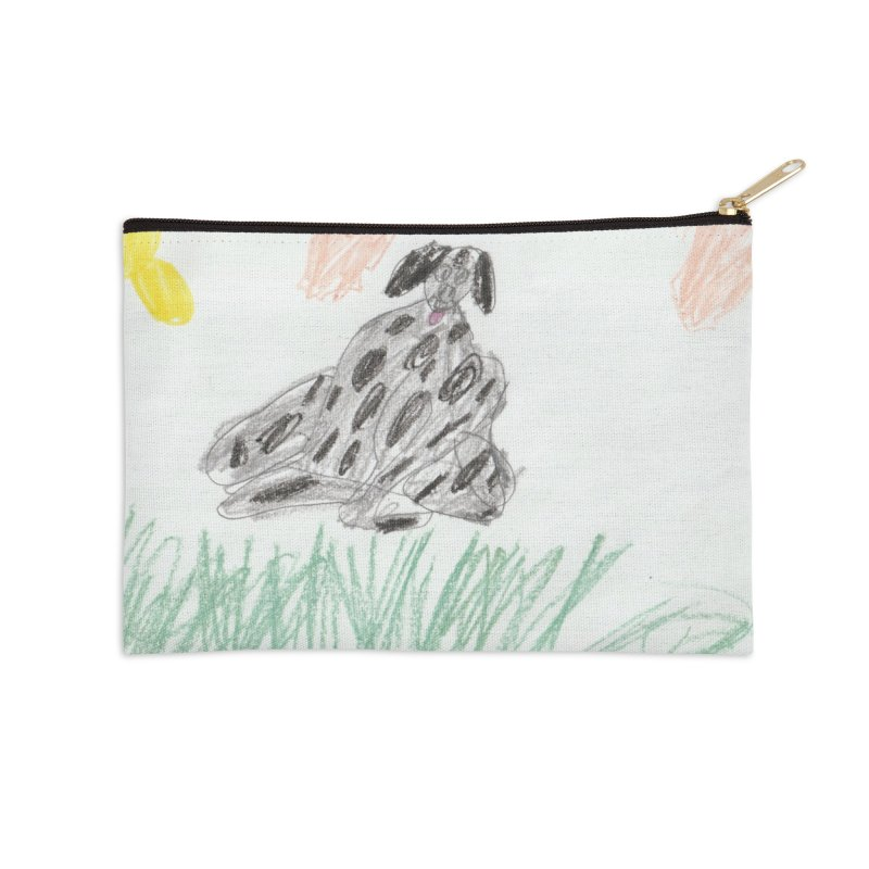 KFP Avery Y. Accessories Zip Pouch by Maryland SPCA's Artist Shop