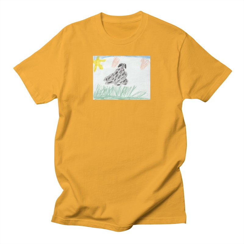 KFP Avery Y. Men's T-Shirt by Maryland SPCA's Artist Shop