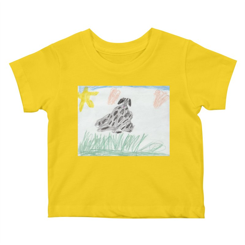 KFP Avery Y. Kids Baby T-Shirt by Maryland SPCA's Artist Shop
