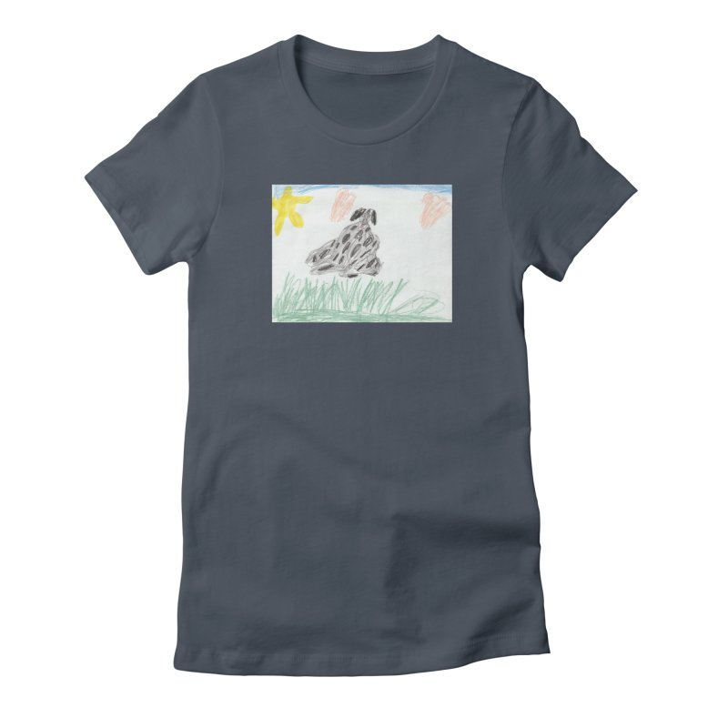 KFP Avery Y. Women's T-Shirt by Maryland SPCA's Artist Shop