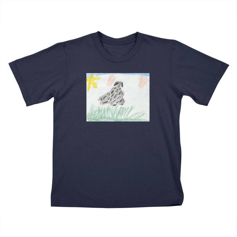 KFP Avery Y. Kids T-Shirt by Maryland SPCA's Artist Shop