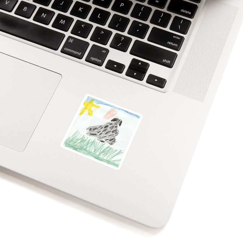 KFP Avery Y. Accessories Sticker by Maryland SPCA's Artist Shop