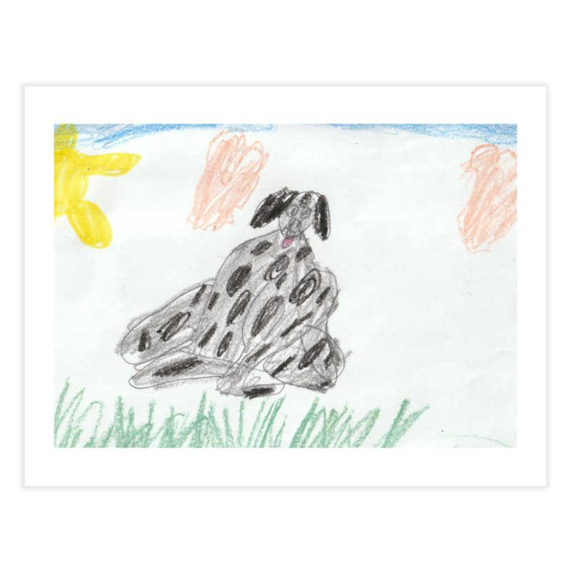KFP Avery Y. Home Fine Art Print by Maryland SPCA's Artist Shop