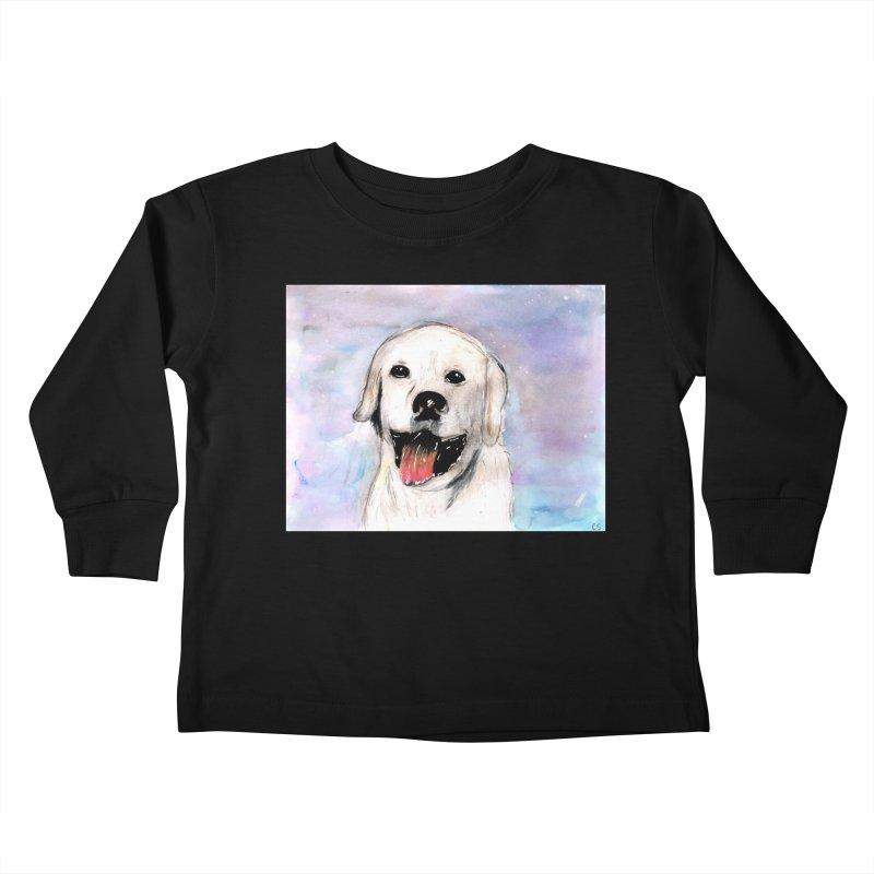KFP Chloe S. Kids Toddler Longsleeve T-Shirt by Maryland SPCA's Artist Shop