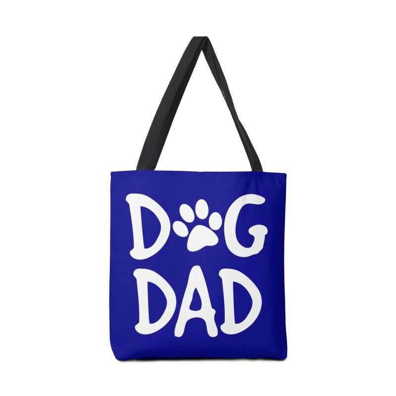 Dog Dad Accessories Tote Bag Bag by Maryland SPCA's Artist Shop