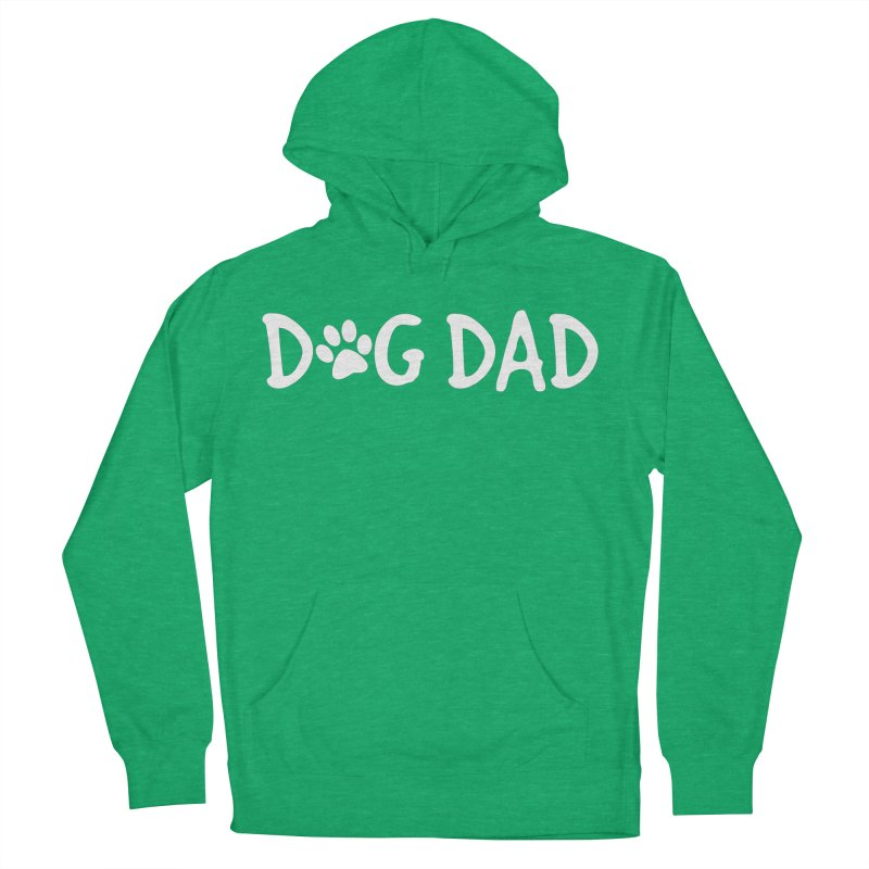 Dog Dad Men's French Terry Pullover Hoody by marylandspca's Artist Shop