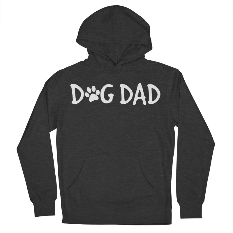 Dog Dad Men's French Terry Pullover Hoody by Maryland SPCA's Artist Shop