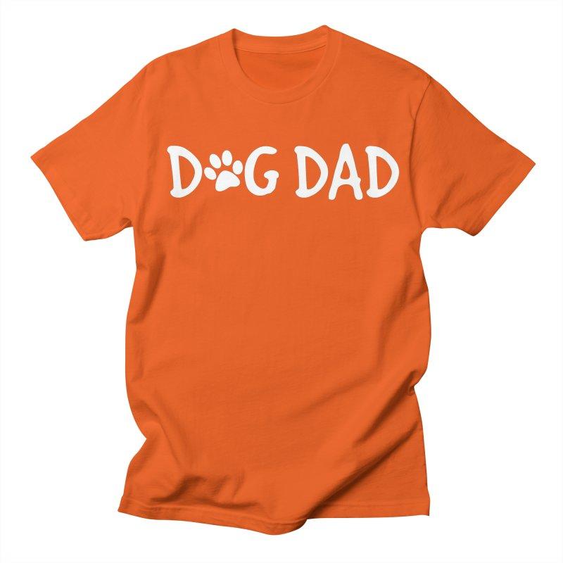Dog Dad Men's Regular T-Shirt by Maryland SPCA's Artist Shop