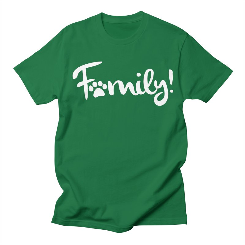 Family! Men's Regular T-Shirt by Maryland SPCA's Artist Shop