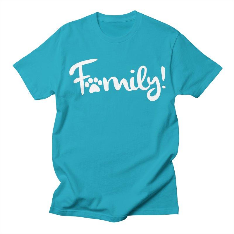 Family! Men's Regular T-Shirt by Maryland SPCA's Artist Shop