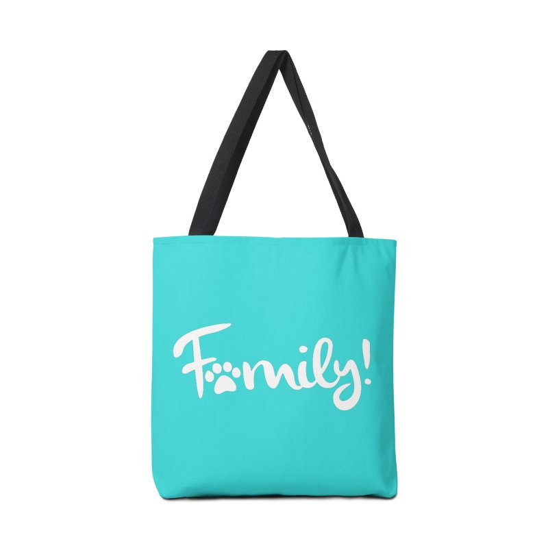 Family! Accessories Tote Bag Bag by Maryland SPCA's Artist Shop
