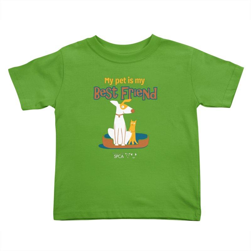 Best Friend - MD SPCA Design Kids Toddler T-Shirt by Maryland SPCA's Artist Shop
