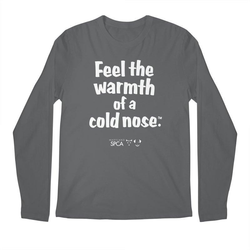 Feel the Warmth - MD SPCA Design Men's Longsleeve T-Shirt by Maryland SPCA's Artist Shop