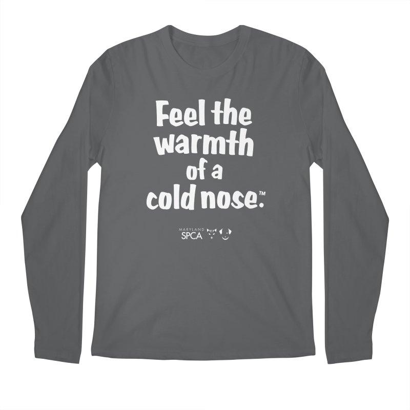 Feel the Warmth - MD SPCA Design Men's Regular Longsleeve T-Shirt by marylandspca's Artist Shop