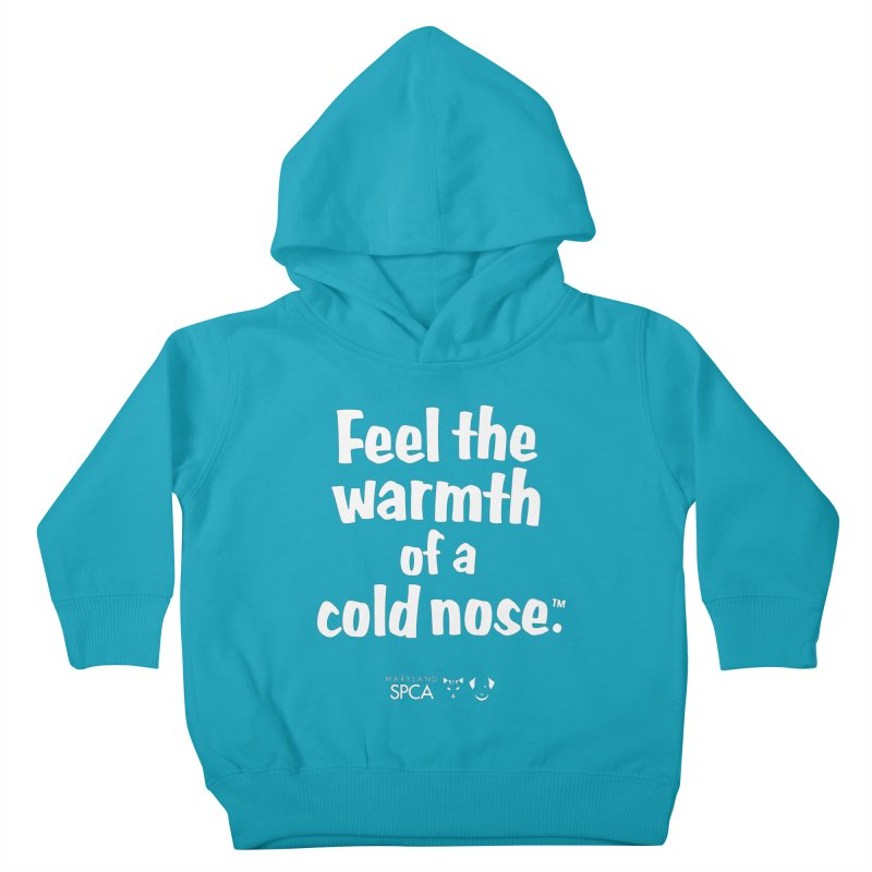 Feel the Warmth - MD SPCA Design Kids Toddler Pullover Hoody by Maryland SPCA's Artist Shop