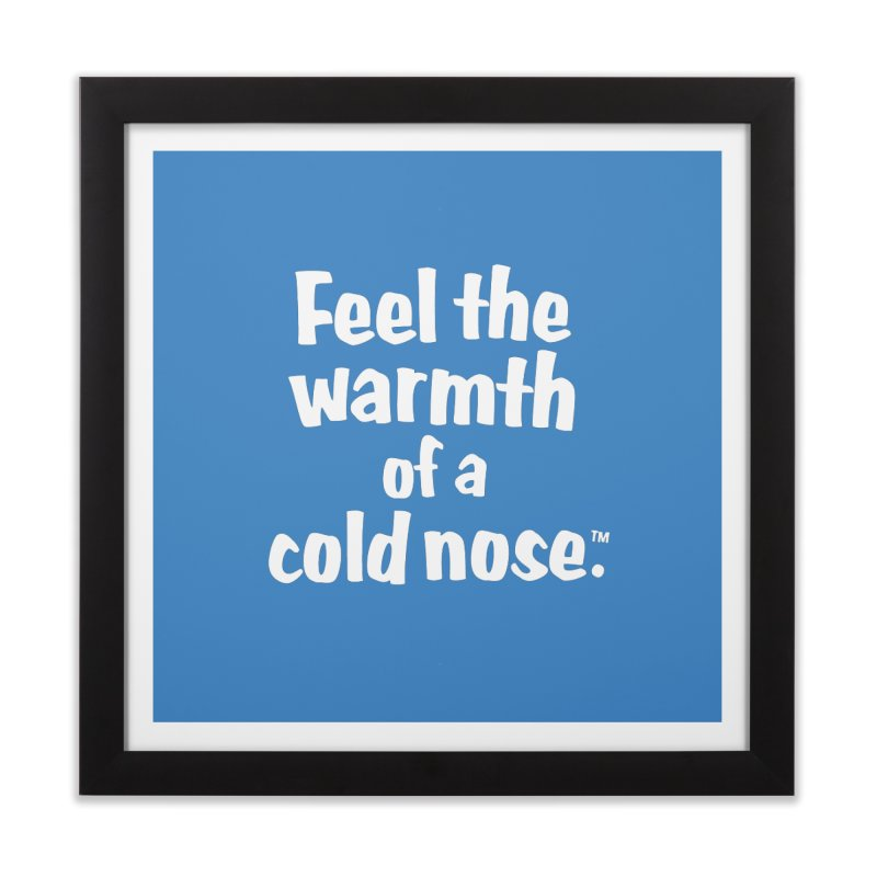 Feel the Warmth - MD SPCA Design Home Framed Fine Art Print by Maryland SPCA's Artist Shop