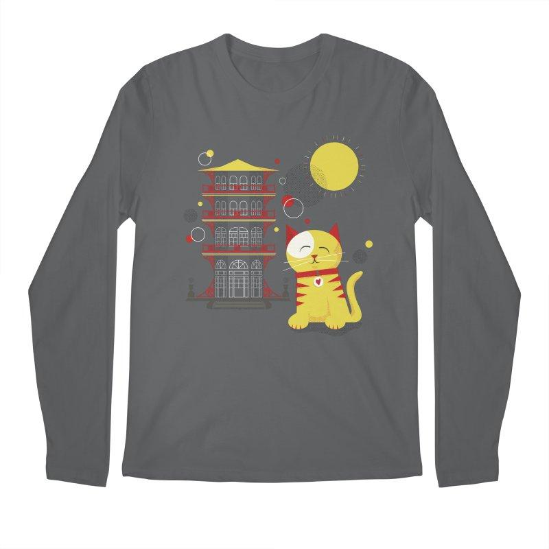 Pawgoda by Richard Kercz Men's Longsleeve T-Shirt by Maryland SPCA's Artist Shop