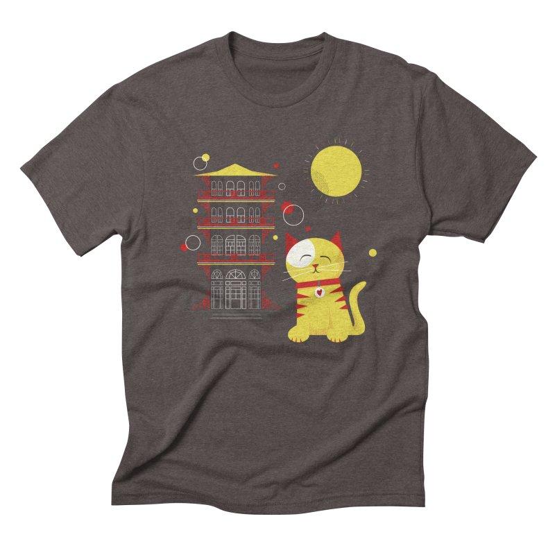 Pawgoda by Richard Kercz Men's T-Shirt by Maryland SPCA's Artist Shop