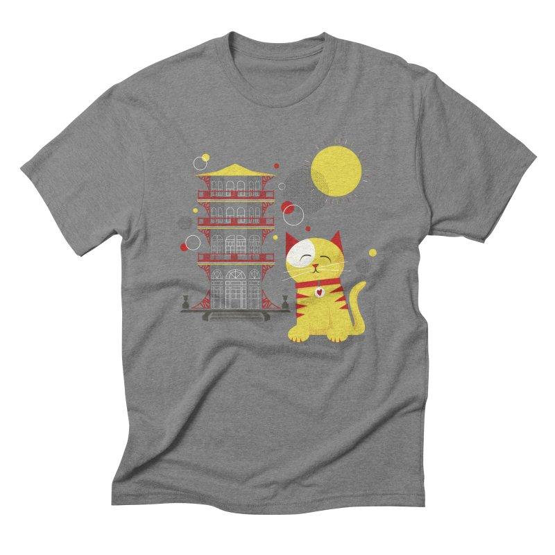 Pawgoda by Richard Kercz Men's Triblend T-Shirt by marylandspca's Artist Shop