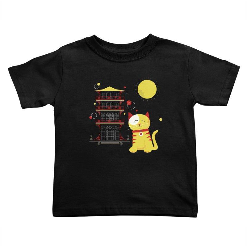 Pawgoda by Richard Kercz Kids Toddler T-Shirt by Maryland SPCA's Artist Shop