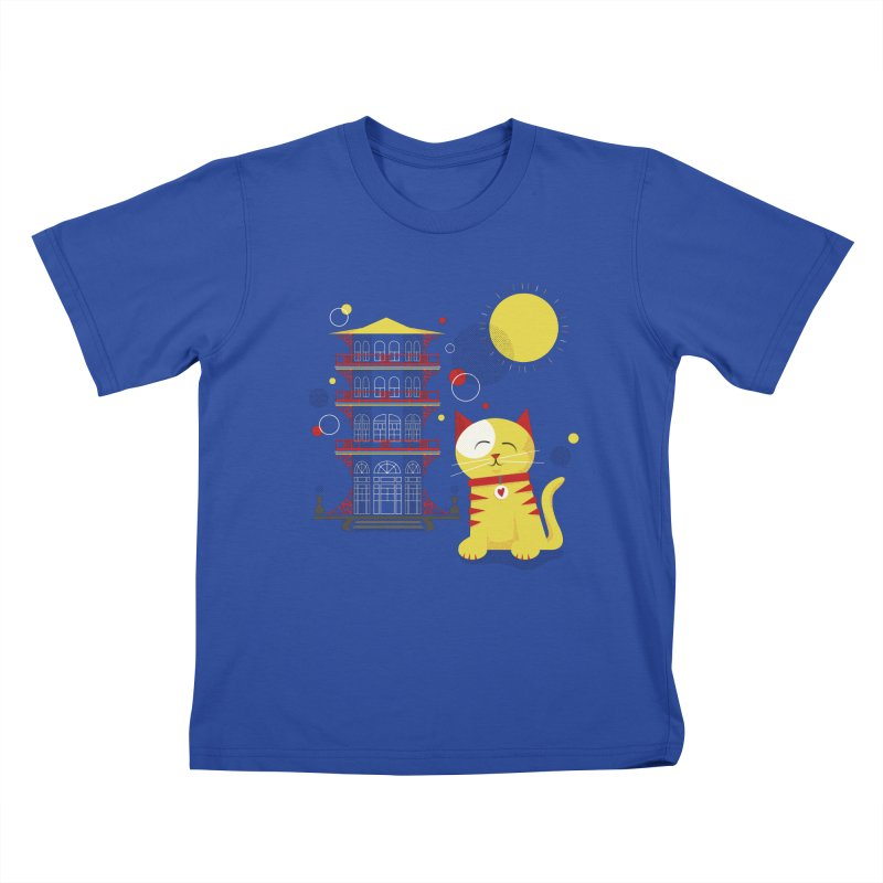 Pawgoda by Richard Kercz Kids T-Shirt by marylandspca's Artist Shop