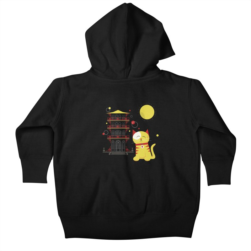 Pawgoda by Richard Kercz Kids Baby Zip-Up Hoody by Maryland SPCA's Artist Shop