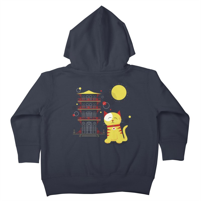 Pawgoda by Richard Kercz Kids Toddler Zip-Up Hoody by Maryland SPCA's Artist Shop