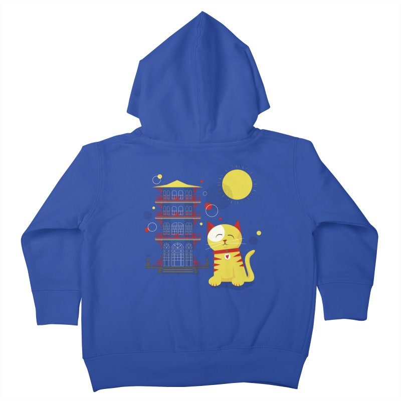 Pawgoda by Richard Kercz Kids Toddler Zip-Up Hoody by marylandspca's Artist Shop