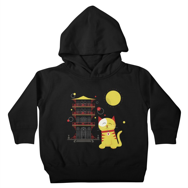 Pawgoda by Richard Kercz Kids Toddler Pullover Hoody by Maryland SPCA's Artist Shop