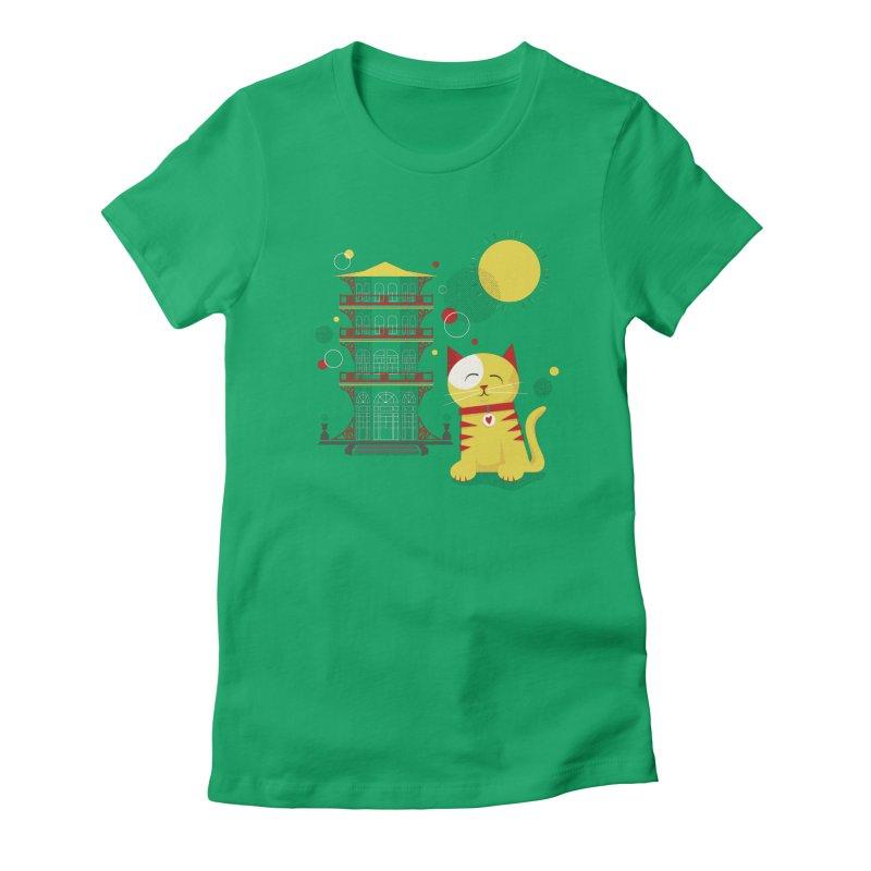 Pawgoda by Richard Kercz Women's T-Shirt by Maryland SPCA's Artist Shop