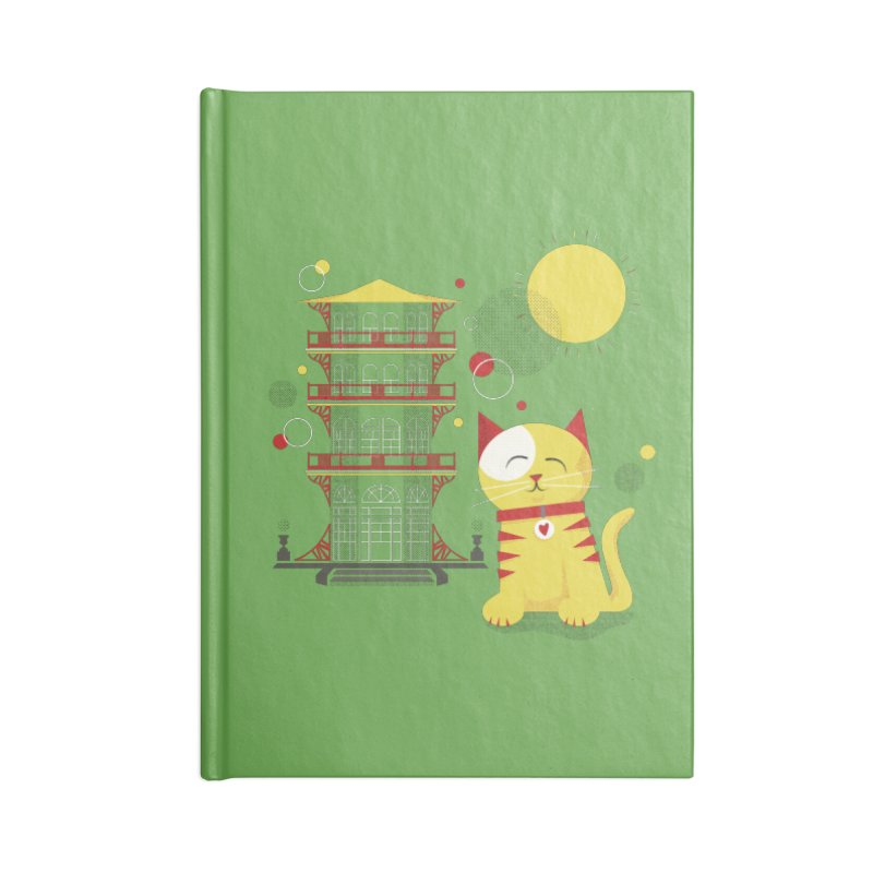 Pawgoda by Richard Kercz Accessories Blank Journal Notebook by Maryland SPCA's Artist Shop