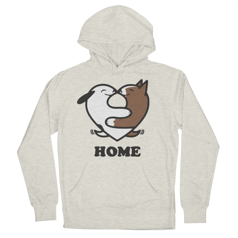 Home by Mark Kubat Men's Pullover Hoody by Maryland SPCA's Artist Shop
