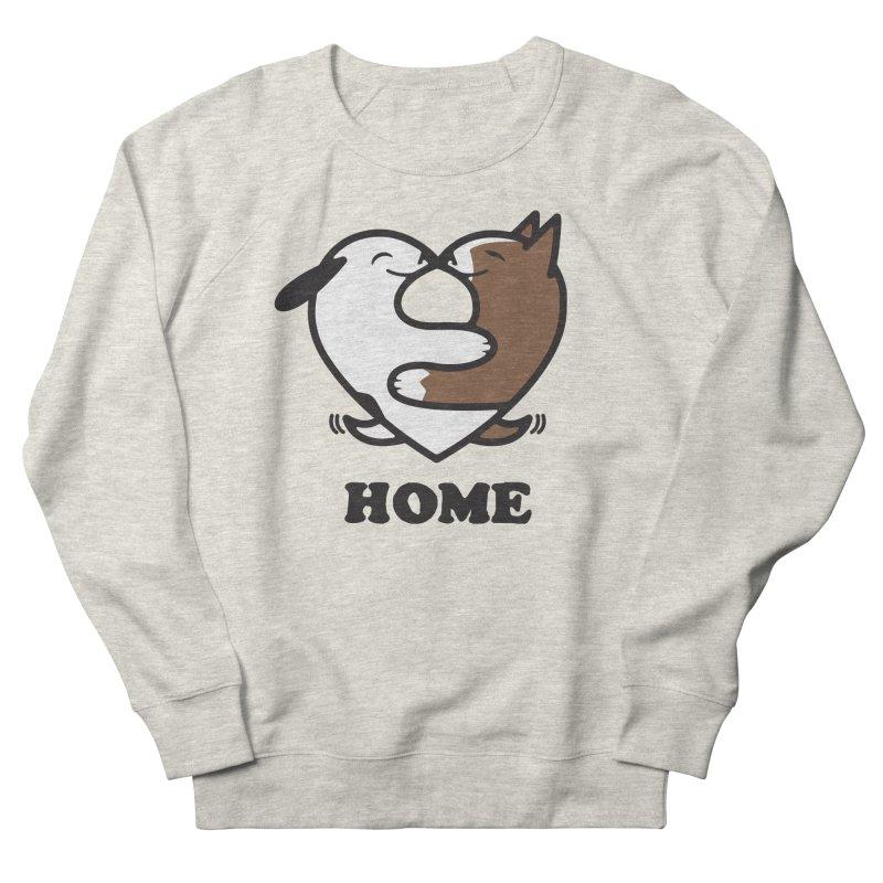 Home by Mark Kubat Men's Sweatshirt by Maryland SPCA's Artist Shop