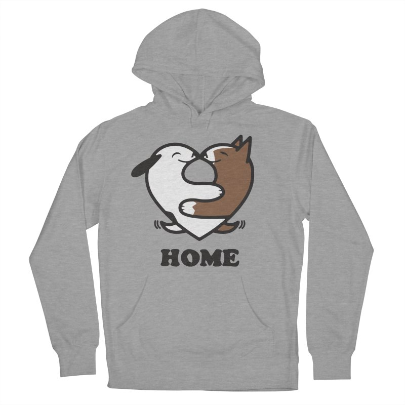 Home by Mark Kubat Women's French Terry Pullover Hoody by Maryland SPCA's Artist Shop