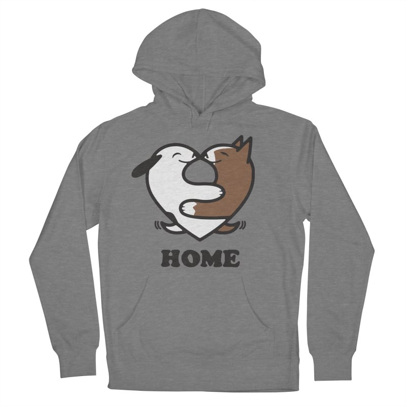 Home by Mark Kubat Men's French Terry Pullover Hoody by Maryland SPCA's Artist Shop