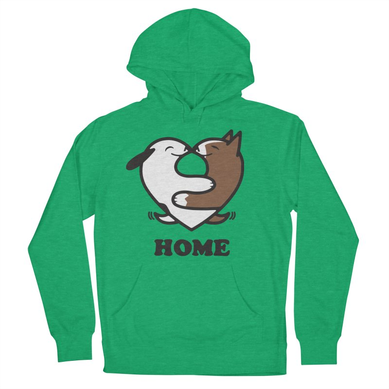 Home by Mark Kubat Men's French Terry Pullover Hoody by marylandspca's Artist Shop