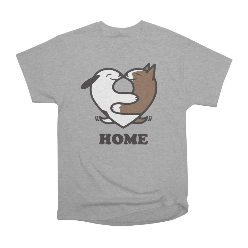 Home by Mark Kubat Women's Heavyweight Unisex T-Shirt by marylandspca's Artist Shop