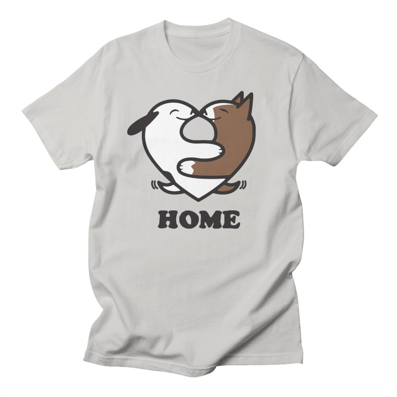 Home by Mark Kubat Women's Regular Unisex T-Shirt by Maryland SPCA's Artist Shop