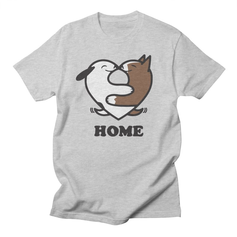 Home by Mark Kubat Men's Regular T-Shirt by Maryland SPCA's Artist Shop