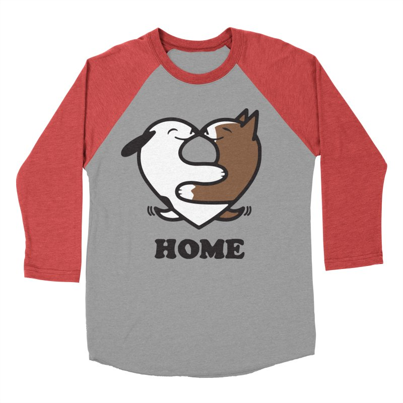 Home by Mark Kubat Women's Baseball Triblend Longsleeve T-Shirt by marylandspca's Artist Shop