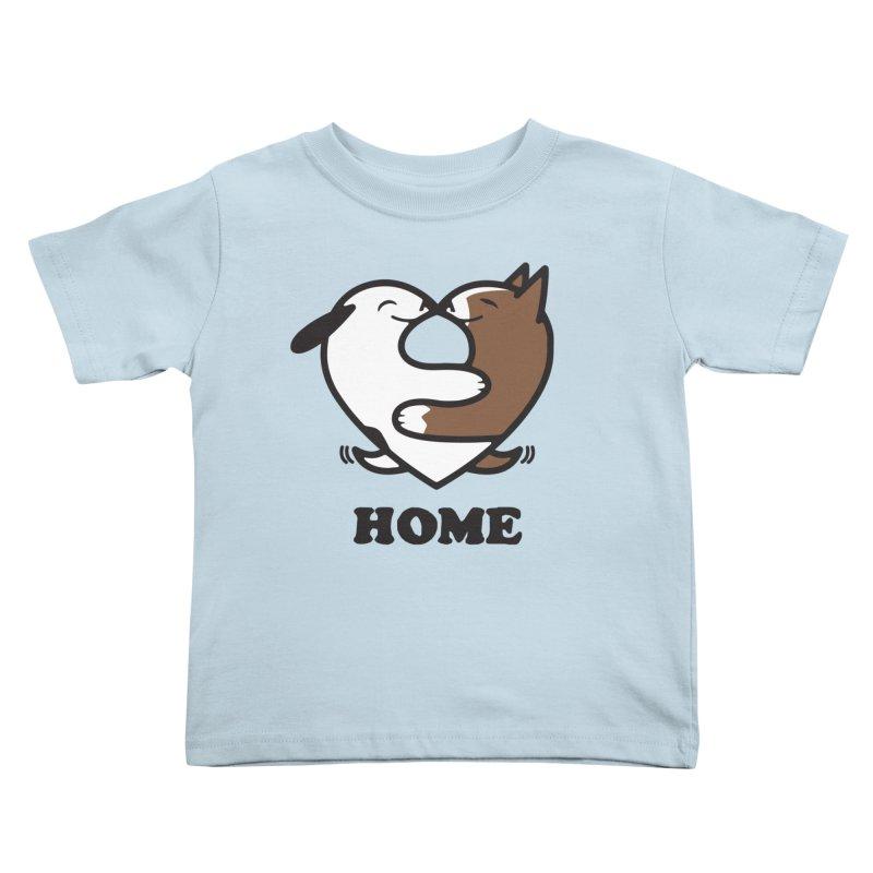 Home by Mark Kubat Kids Toddler T-Shirt by Maryland SPCA's Artist Shop